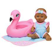25cm Bath Time Doll Assorted Brown Eyes