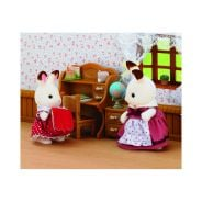 Chocolate Rabbit Sister and Desk