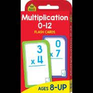 Flash Cards - Multiplication 0-12