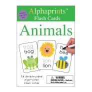 Pan Macmillan - Alphaprints Flashcards Animals