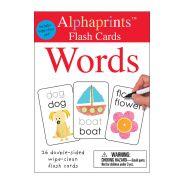 Pan Macmillan - Alphaprints Flashcards Words