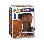 Funko Pop! Marvel:Spider Man-Spider Man Wooden Special Edition