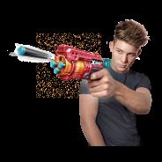 Excel Fury 4 Foam Dart Blaster (16 Darts) by ZURU