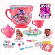 Tea Party Teacup Dolls Playset (With Over 25 Surprises!) by Zuru