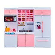 Deluxe Fashion Doll Kitchen Set