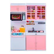 Pink Fashion Doll Kitchen Set Assorted