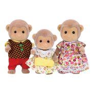 Monkey Family- Sylvanian Families