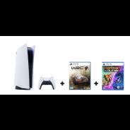 PlayStation 5 1TB Glacier White + Ratchet & Clank: Rift Apart + WRC 9