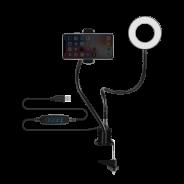 Volkano Insta Series Ring light and Desk Clamp