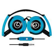 Symphony Series AUX Headphones Blue & Black
