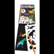 Roly Polyz Dinosaur Scratch Paper