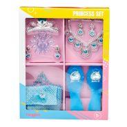 Girls Blue Princess Dress Up Set