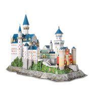 Neuschwanstein Castle 3D Puzzle With LEDs (128pcs)