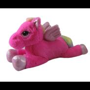 80cm Laying Pink Pegasus