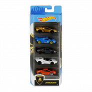 Hot Wheels 5-Pack Car Vehicle Assortment, 1:64 scale