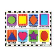 Melissa & Doug Chunky Puzzle - Shapes