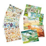 Reusable Sticker Pad - Jungle & Savanna