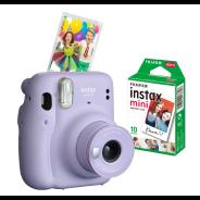 Instax Mini 11 Lilac Purple Camera & Film