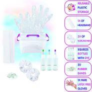 Neon Tie Dye Hair Accessories Crate