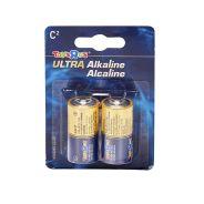 C Alkaline Batteries 2 Pack