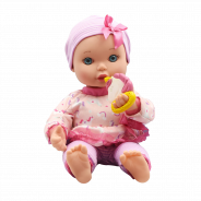 30cm Magic Pacifier Toddler Doll