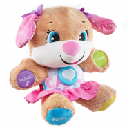 Laugh & Learn Smart Stages Sis- Baby's favorite puppy friend who cuddles, lights up, and teaches first words, too!