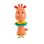 Activity Giraffe, Take-Along Clacker Toy with Sensory Details