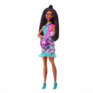 Big City Big Dreams Singing Barbie Brooklyn Doll with Music Feature (Brunette)
