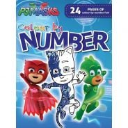Colour By Number Activity Book